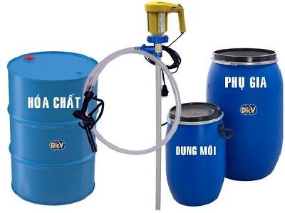 Bơm hóa chất từ thùng phuy