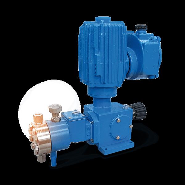 Bơm định lượng được kích hoạt bằng thủy lực hoạt động dưới áp suất