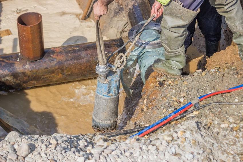 Cách lắp đặt bơm chìm giếng khoan