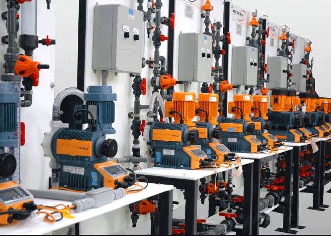 Chọn đúng máy bơm định lượng hoá chất cho các hệ thống nhà máy xử lý