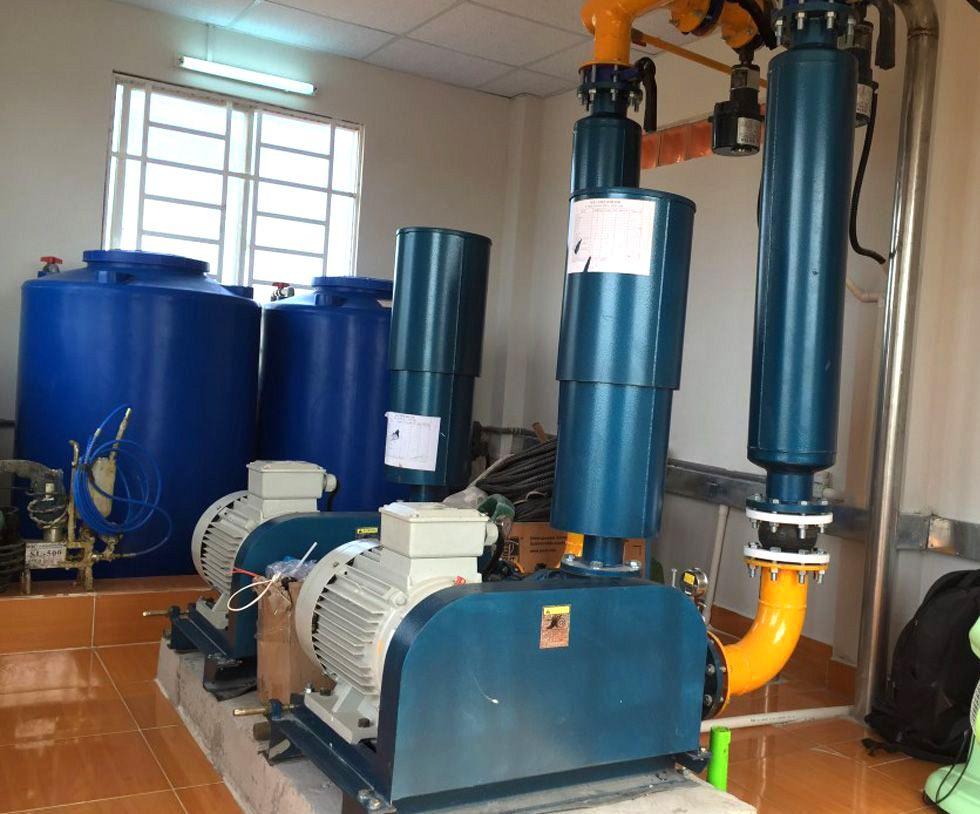 Hệ thống máy thổi khí trong nuôi trồng thủy sản