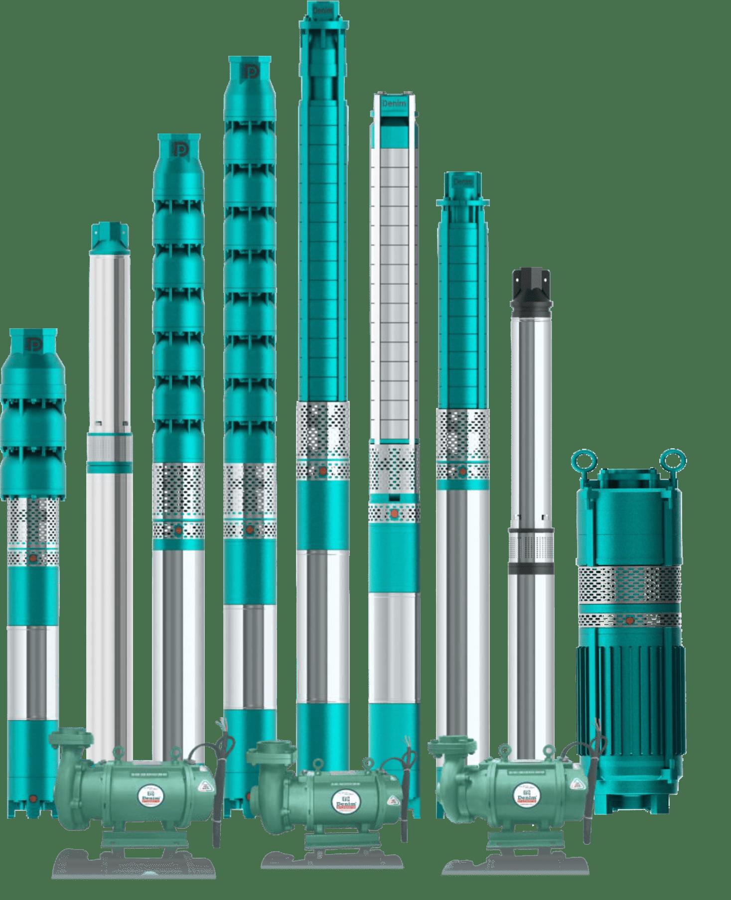 Máy bơm chìm ly tâm - Nguyên lý hoạt động và các loại máy bơm ly tâm