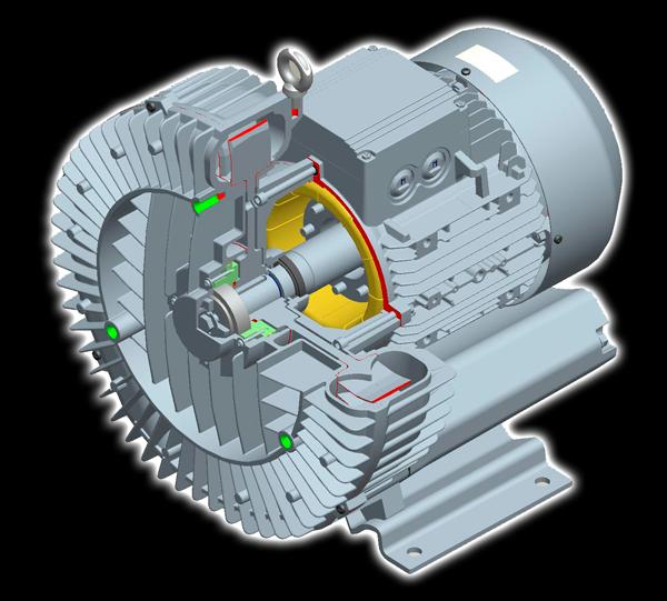 Máy thổi khí con sò và những thông số cơ nhất của máy