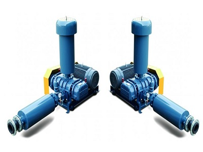 Máy thổi khí đặt cạn trong sản xuất công nghiệp