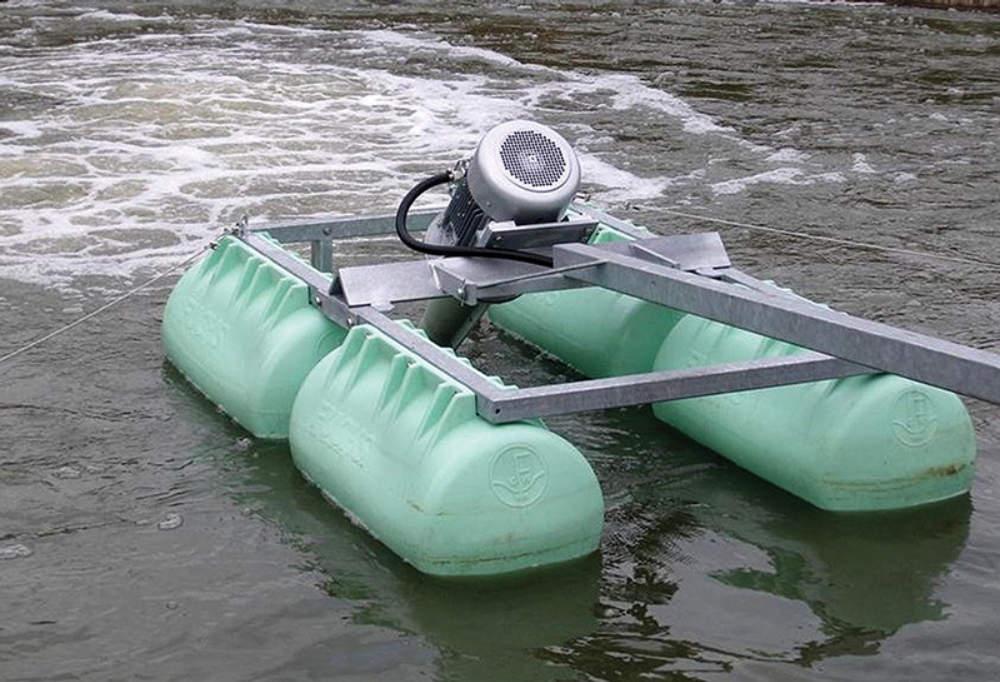 Máy thổi khí để xử lý nước thải