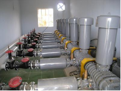 Máy thổi khí được sử dụng hiện nay