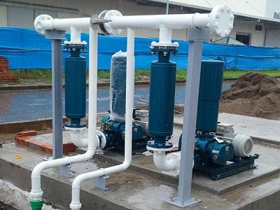 Máy thổi khí xử lý nước thải trong công nghiệp